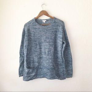 🌿 Purejill Sweater Oversized Boxy M Crewneck